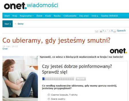 Screenshot strony onet.pl